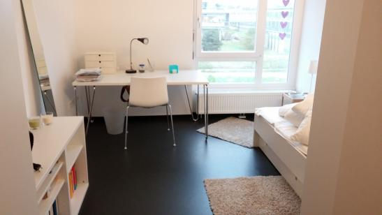 appartement im studentenwohnheim bgm ulrich n he. Black Bedroom Furniture Sets. Home Design Ideas