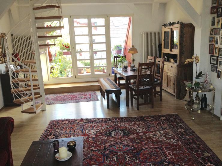 lichtdurchflutete maisonette wohnung zur zwischenmiete. Black Bedroom Furniture Sets. Home Design Ideas