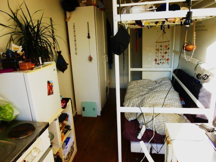 1 zimmer wohnung in sch ner lage paris16 1 zimmer wohnung in paris 16tes nahe eiffelturm. Black Bedroom Furniture Sets. Home Design Ideas