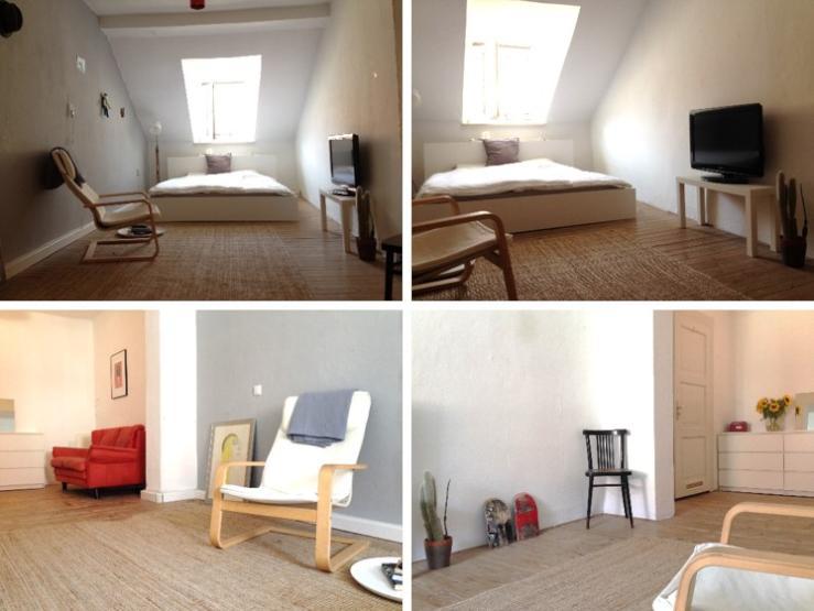 sch ne 2 zimmer dg im glockenbachviertel wohnung in m nchen glockenbachviertel. Black Bedroom Furniture Sets. Home Design Ideas