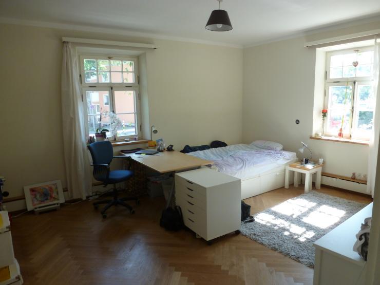 24qm gro es helles zimmer in saniertem altbau wohngemeinschaft rosenheim innenstadt. Black Bedroom Furniture Sets. Home Design Ideas