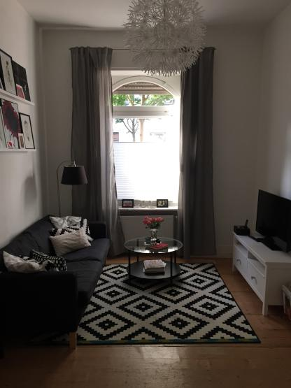 stylish 2 room flat in bornheim mitte city central wohnung in frankfurt am main bornheim. Black Bedroom Furniture Sets. Home Design Ideas