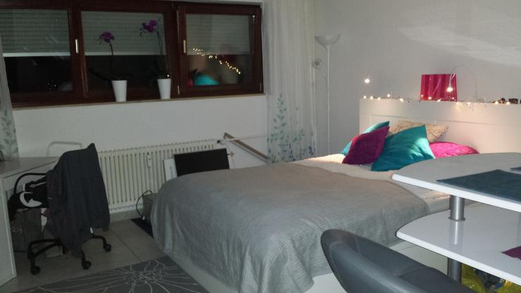 ab mai g nstige 1 zimmer souterrainwohnung in ffm harheim. Black Bedroom Furniture Sets. Home Design Ideas