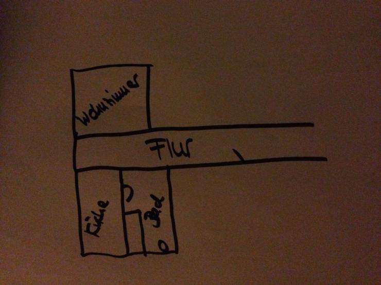 sch ne 1 zi whg m bliert zur zwischenmiete 4 6 wochen. Black Bedroom Furniture Sets. Home Design Ideas
