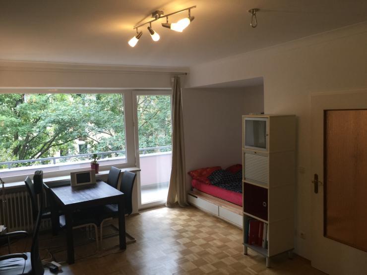 45 qm wohnung mit gro em balkon in bogenhausen 535 kalt wohnung in m nchen bogenhausen. Black Bedroom Furniture Sets. Home Design Ideas