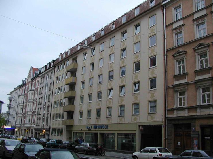 zentral gelegene 1 zimmer wohnung n he stiglmaierplatz 1. Black Bedroom Furniture Sets. Home Design Ideas
