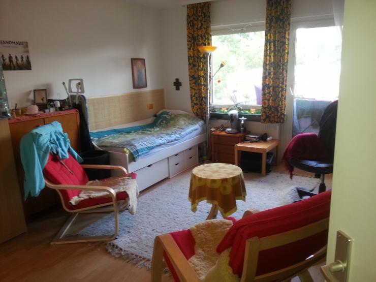 g nstige 1 zimmer wohnung in ruhiger aber gut angebundener lage 1 zimmer wohnung in frankfurt. Black Bedroom Furniture Sets. Home Design Ideas