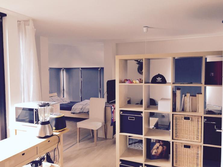 ideale studentenwohnung 1 zimmer wohnung in k ln zollstock. Black Bedroom Furniture Sets. Home Design Ideas