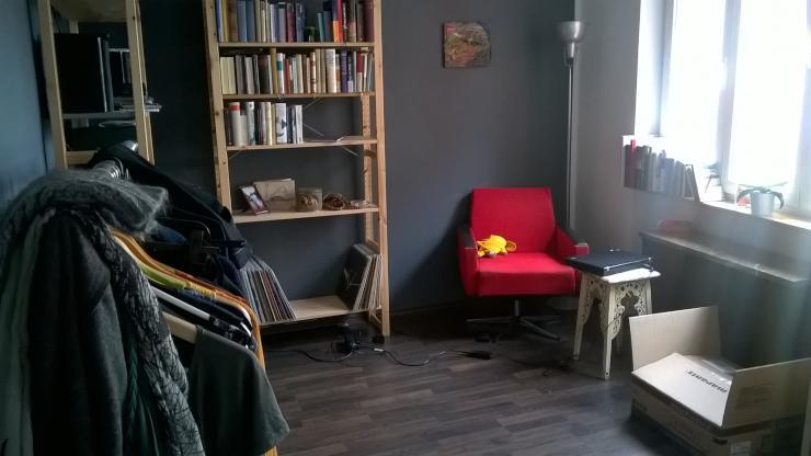 gem tliche wohnung in isar n he 1 zimmer wohnung in m nchen au haidhausen. Black Bedroom Furniture Sets. Home Design Ideas