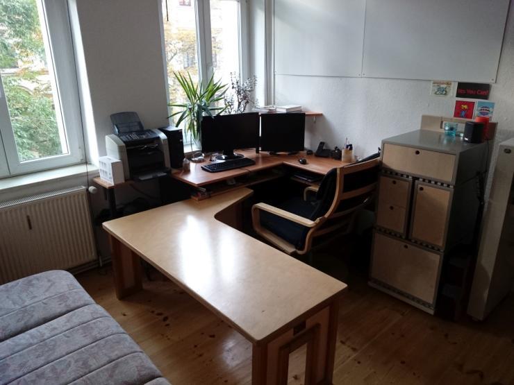 m bliertes 20 qm zimmer in 2er wg m bliertes wg zimmer dresden plauen. Black Bedroom Furniture Sets. Home Design Ideas