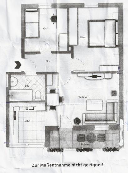 Kleine 3 Zimmer Wohnung Mit Balkon