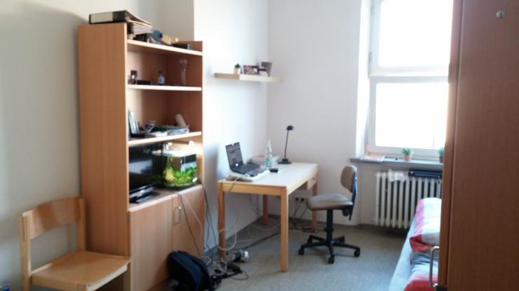 m biliertes 1 zimmer apartment im studentenwohnheim ulmenweg 1 zimmer wohnung in mannheim. Black Bedroom Furniture Sets. Home Design Ideas