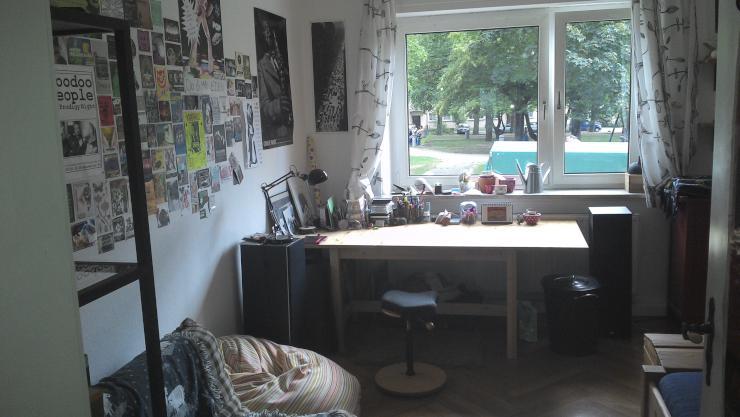 helles 16m zimmer in super 4er wg wohngemeinschaft ulm neu ulm. Black Bedroom Furniture Sets. Home Design Ideas