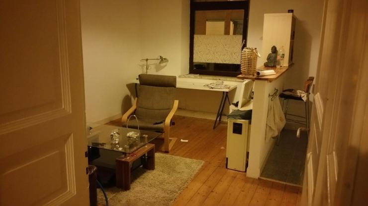 sch ne 1 zimmer wohnung plus k che in unin he hansemannplatz 1 zimmer wohnung in aachen aachen. Black Bedroom Furniture Sets. Home Design Ideas