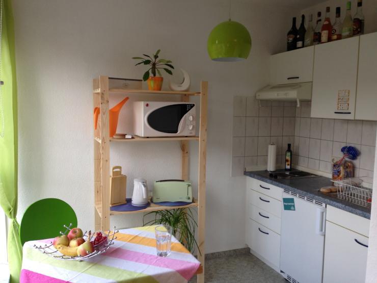 g nstige 1 raum wohnung in bester lage teilm bliert 1. Black Bedroom Furniture Sets. Home Design Ideas