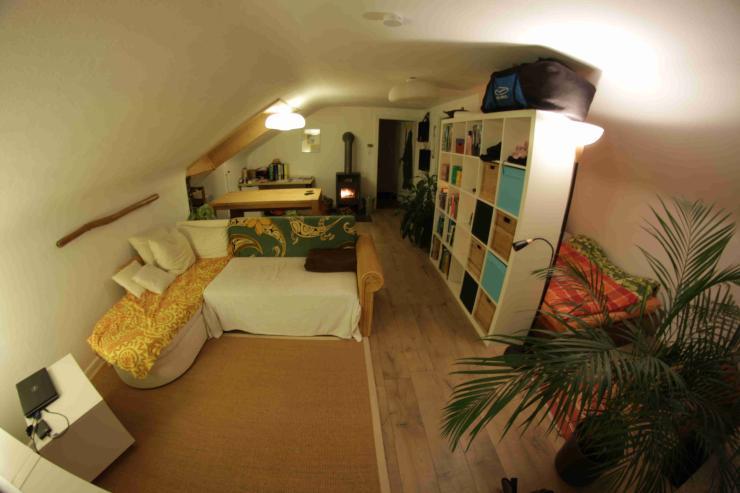 1 zimmerwohnung zur zwischenmiete 1 zimmer wohnung in. Black Bedroom Furniture Sets. Home Design Ideas