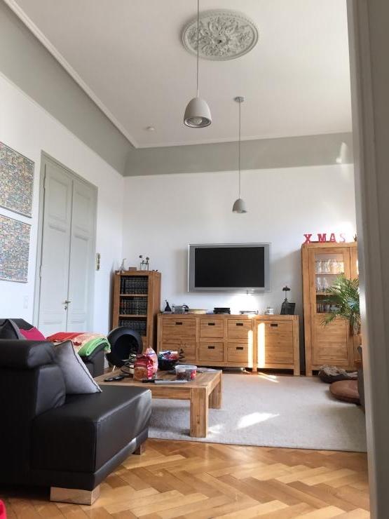 innenstadt 110m2 altbau hohe stuckdecken parkett dachterassen wohnung in bad honnef innenstadt. Black Bedroom Furniture Sets. Home Design Ideas