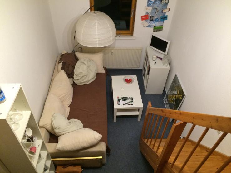 G nstige einzimmerwohnung ideal f r studenten for 1 zimmer wohnung flensburg