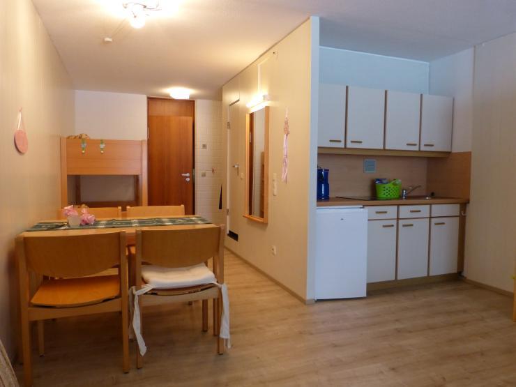 m bliertes appartement 38qm in ferienanlage mit pool 1 zimmer wohnung in straubing sankt englmar. Black Bedroom Furniture Sets. Home Design Ideas