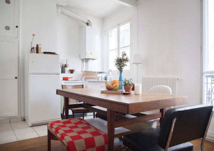 Helle 1-Zimmer Wohnung gleich neben Pere Lachaise ...