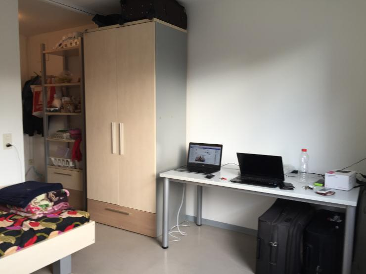 single room apartment full furnished 1 zimmer wohnung in dortmund eichlinghofen. Black Bedroom Furniture Sets. Home Design Ideas