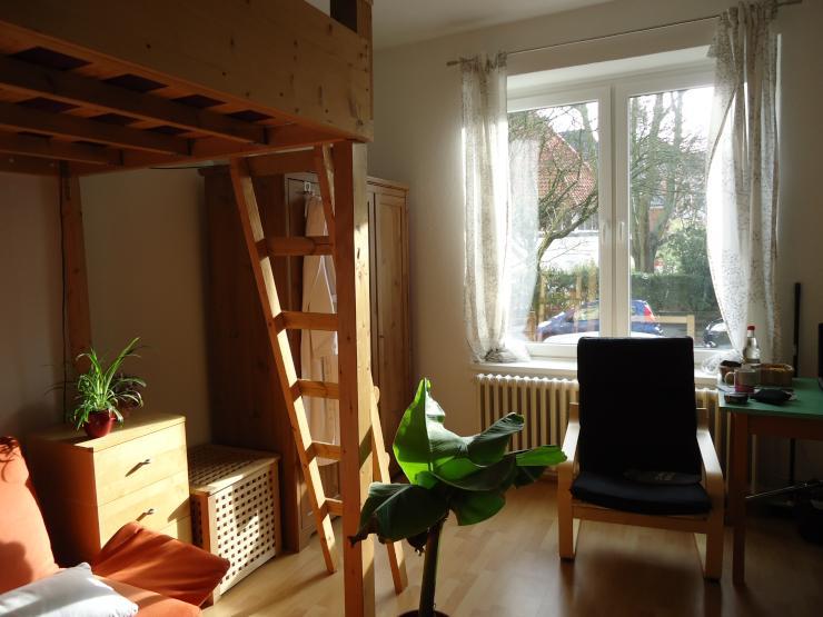 1 zimmer wohnung mit k che zwischen s dfriedhof und schrevenpark 1 zimmer wohnung in kiel. Black Bedroom Furniture Sets. Home Design Ideas