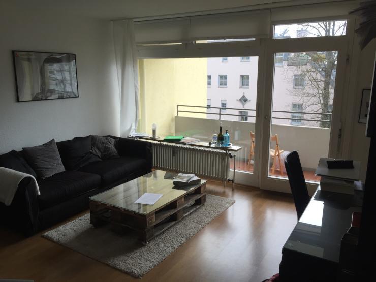 sch ne helle 1 zimmer wohnung in toplage 1 zimmer wohnung in augsburg innenstadt. Black Bedroom Furniture Sets. Home Design Ideas