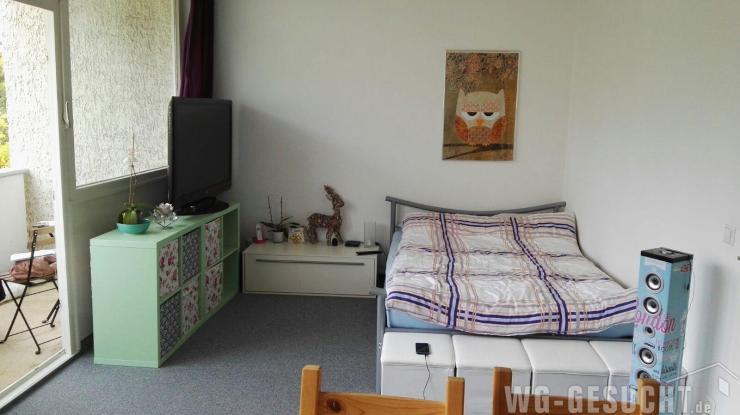 sonnige 1 zimmer whg in ruhiger lage 1 zimmer wohnung in. Black Bedroom Furniture Sets. Home Design Ideas