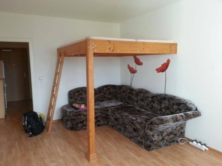 helle 1 raum wohnung am gro en garten 1 zimmer wohnung in dresden striesen. Black Bedroom Furniture Sets. Home Design Ideas