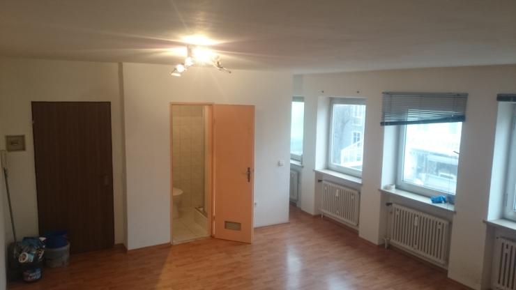 zentral gelegene 1 zimmer wohnung in neu ulm 1 zimmer wohnung in neu ulm neu ulm zentrum. Black Bedroom Furniture Sets. Home Design Ideas