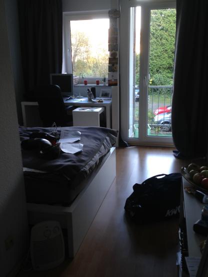 g nstiges 1 zimmer wohnung ruhige lage balkon 1 zimmer wohnung in osnabr ck w ste. Black Bedroom Furniture Sets. Home Design Ideas