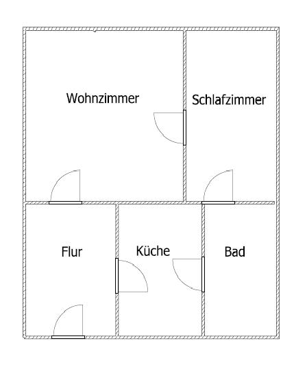 2 raumwohnung erstbezug nach sanierung wohnung in bernburg saale innenstadt. Black Bedroom Furniture Sets. Home Design Ideas