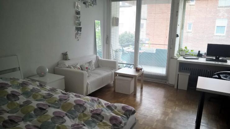 1 zimmer wohnung neu ulm mitte 1 zimmer wohnung in neu ulm stadtmitte. Black Bedroom Furniture Sets. Home Design Ideas