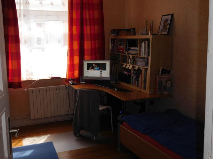 eine helle 1 zimmer wohnung in kiel gaarden zur zwischen mitte 1 zimmer wohnung in kiel. Black Bedroom Furniture Sets. Home Design Ideas