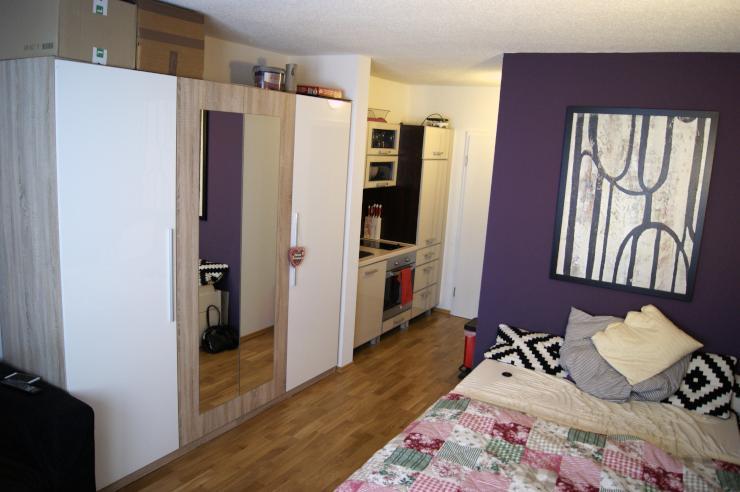 1 zimmer studentenappartement 1 zimmer wohnung in regensburg pentling. Black Bedroom Furniture Sets. Home Design Ideas