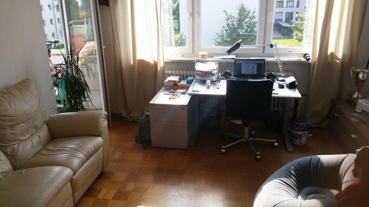 wg zimmer unmittelbar bei fh wg in rosenheim m bliert rosenheim n he fh. Black Bedroom Furniture Sets. Home Design Ideas