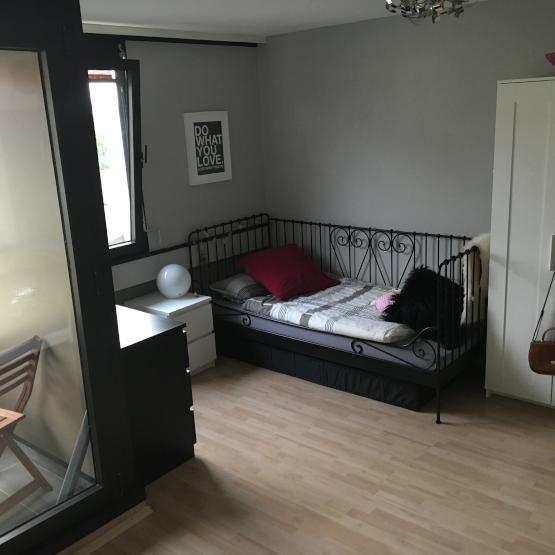 ruhiges helles 1 zimmerappartement ideal f r studenten 1 zimmer wohnung in neu ulm neu ulm. Black Bedroom Furniture Sets. Home Design Ideas