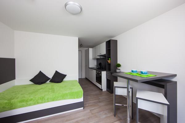 1z apartment im ilive neues studentenwohnheim 1 zimmer wohnung in biberach an der ri biberach. Black Bedroom Furniture Sets. Home Design Ideas