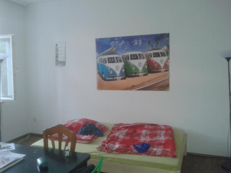 ruhige m blierte zentral gelegene 1 zimmer wohnung neu ulm 1 zimmer wohnung in ulm mitte. Black Bedroom Furniture Sets. Home Design Ideas