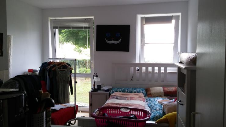teil m bliertes 1 zimmer appartement in uni n he 1 zimmer wohnung in regensburg kasernenviertel. Black Bedroom Furniture Sets. Home Design Ideas