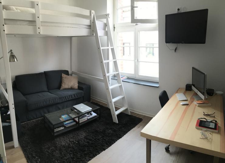 absolut innenstadt einzimmerwohnung in der bielefelder innenstadt 1 zimmer wohnung in. Black Bedroom Furniture Sets. Home Design Ideas