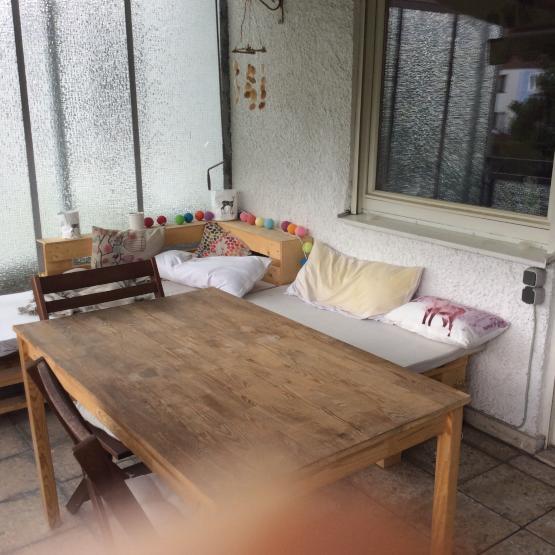 gem tliche 2 zimmer wohnung mit gro er loggia wohnung in dachau dachau ost. Black Bedroom Furniture Sets. Home Design Ideas