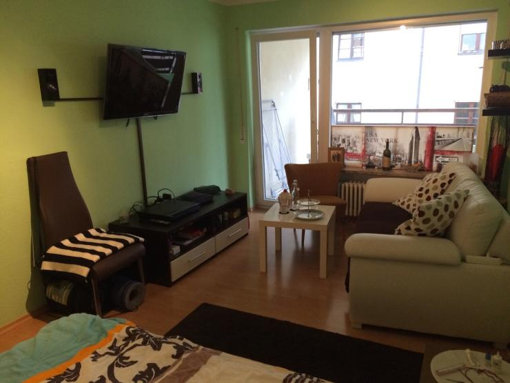 vollm biliertes charmantes appartement in der altstadt 1 zimmer wohnung in augsburg innenstadt. Black Bedroom Furniture Sets. Home Design Ideas
