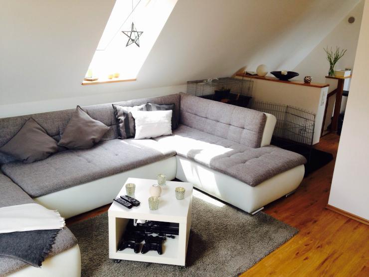 sch ne dachgeschosswohnung in grolsheim zu vermieten wohnung in bingen grolsheim. Black Bedroom Furniture Sets. Home Design Ideas