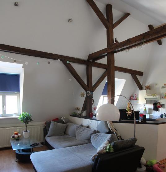 wundersch ne 2 raum wohnung mit balken in stadtfeld ost wohnung in magdeburg stadtfeld ost. Black Bedroom Furniture Sets. Home Design Ideas