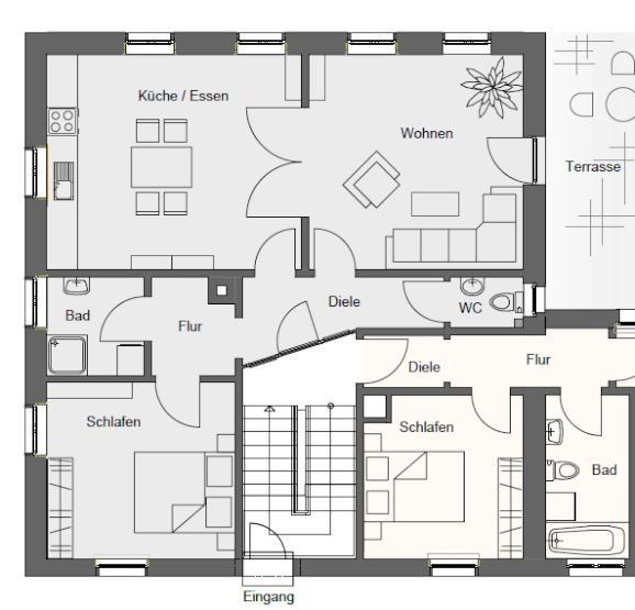 Grundriss wohnung 5 zimmer  Wohnungen Mosbach : Wohnungen Angebote in Mosbach