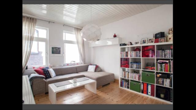 m bliert super ruhige und sch ne 2 zimmer wohnung im. Black Bedroom Furniture Sets. Home Design Ideas