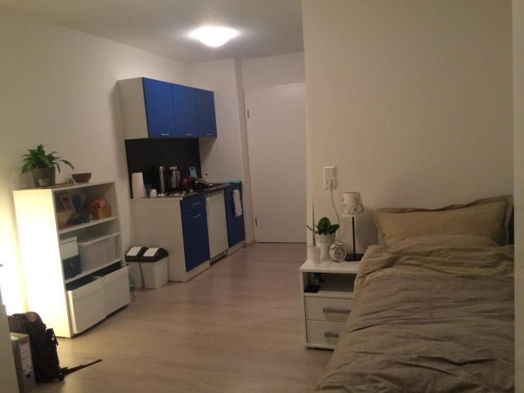 tolles ein zimmer appartement zur zwischenmiete 1 zimmer wohnung in villingen schwenningen. Black Bedroom Furniture Sets. Home Design Ideas