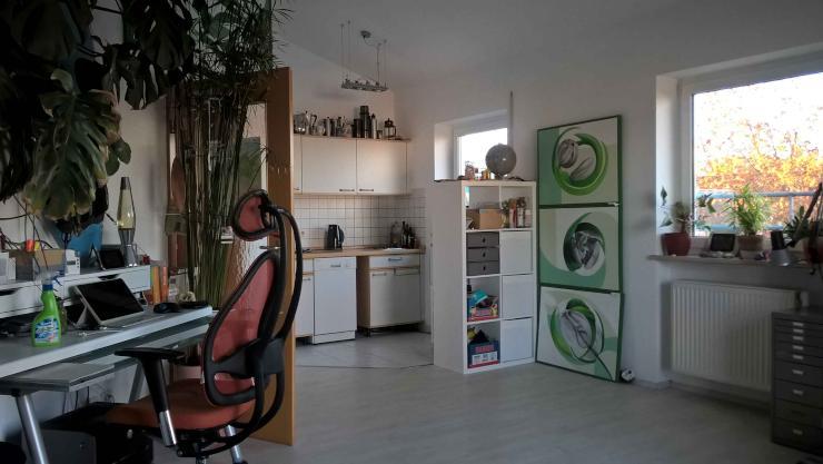 m blierte 1 zimmer wohnung ideal f r pendler 1 zimmer wohnung in augsburg hochzoll. Black Bedroom Furniture Sets. Home Design Ideas