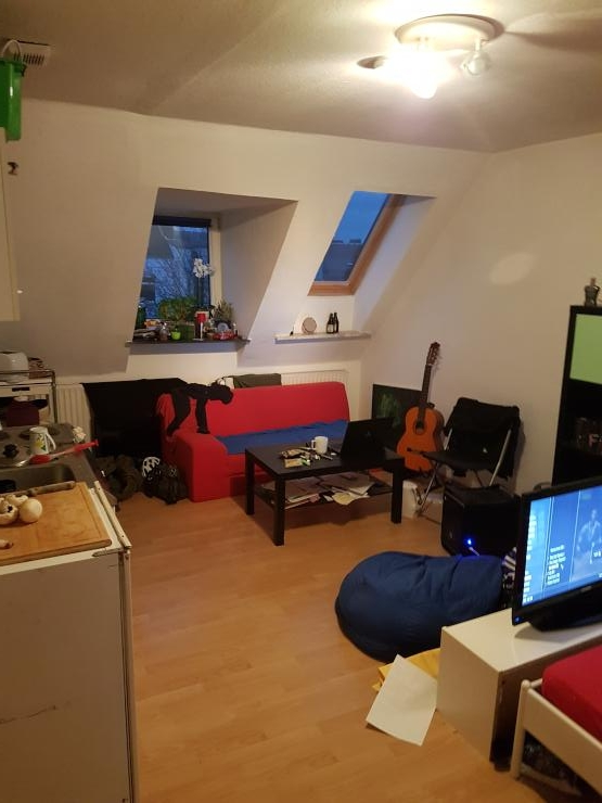 ruhige uninahe studentenwohnung frei ab von privat 1 zimmer wohnung in kiel ravensberg. Black Bedroom Furniture Sets. Home Design Ideas